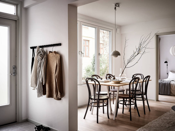Minimal Nordic Apartment Shows Us How To Decorate For Winter